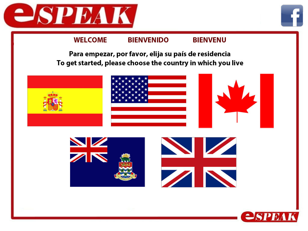 eSPEAK Languages- offering English and Spanish courses- both in Malaga, Spain, and in the UK and USA on summer camps.